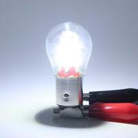 4 LED Filament 1157 BAY15D Car Reverse Backup Tail Stop Brake Lamp Light Bulb Z