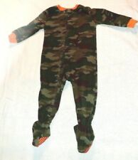 Healthtex Camouflage Footed Sleeper Size 24 Months