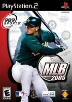 MLB 2005 PS2 Playstation 2 Complete CIB Tested