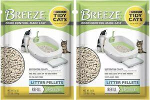 (2) BAGS of Breeze Purina Tidy Cats 3.5 LB of Litter Pellets - NEW