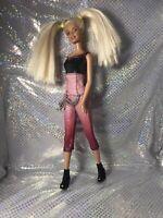 Barbie Sparkle Jumpsuit  Pigtails Boots So Pretty  Doll Fashion Fever Fashionis