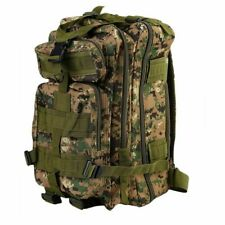 30L Outdoor Military Tactical Backpack // Water Resistant Adjustable Molle Bag