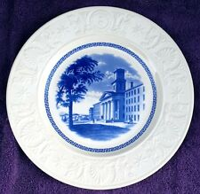 Wedgwood Amherst College Blue College 1840 Plate Excellent