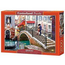 Castorland Jigsaw 2000pc -venice Bridge - Csc200559 Venice