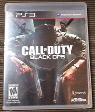 Call of Duty: Black Ops (Sony PlayStation 3) PS3 Complete TESTED COD