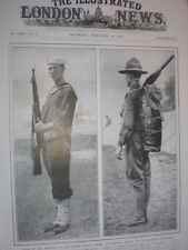 Photo article types of the US Armed forces sailor and militiaman 1917
