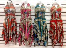 LOT 300 Women Summer Boho Sun Dresses Mixed Juniors Tops Rave Apparel S M L XL