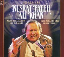 NUSRAT FATEH ALI KHAN - IN CONCERT [DIGIPAK] (NEW CD)