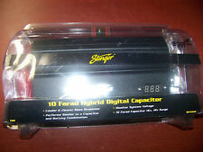 NEW STINGER PRO SPC5010 10 FARAD HYBRID CAPACITOR W/ DIGITAL VOLTAGE READOUT NR