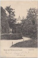 1905 Gruss aus KONIGSWUSTERHAUSEN Germany Postcard German Jagdschloss