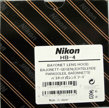Nikon HB-4 lens hood for AF 20mm F2.8 Lens Genuine new