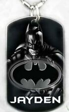 BATMAN - Dog tag Necklace/key chain + FREE ENGRAVING