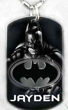 BATMAN - Dog tag Necklace/key chain + FREE ENGRAVING