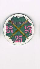 Regency - Bell, CA California $25 Casino Chip
