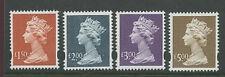 Great Britain 1999 Machins  high values   postfris/MNH