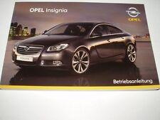 Bedienungsanleitung Opel Insignia, Ausgabe 02/2009 (neu) #bai0309
