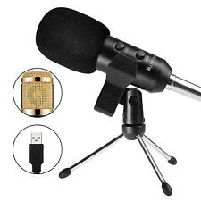 FIFINE K058 USB Stereo Microphone for PC Laptop-GOLDEN