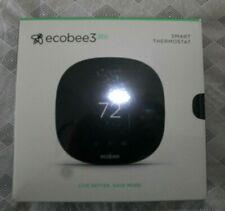 """Ecobee 3 Lite Wi-Fi Alexa Voice Control 3.5"""" Touchscreen Black Thermostat"""