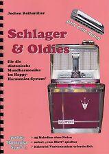 Mundharmonika-Spielheft OHNE Noten: Schlager & Oldies - für Bluesharp