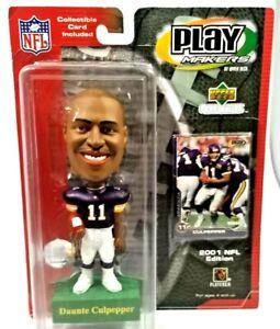 MINNESOTA VIKINGS DAUNTE CULPEPPER #11 BOBBLE HEAD NFL 2001 Play Makers