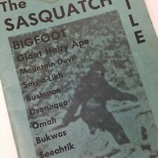 The Sasquatch File by John Green Soft Cover Book 1973, Cheam Publishing BigFoot