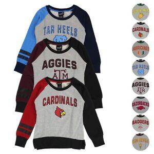 "NCAA Outerstuff  ""Amethyst"" Crewneck Sweatshirt Collection Girls Youth (S-XL)"