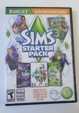 The Sims 3 Starter Pack 3-in-1 COMPLETE (PC/MAC) with CD, Case, Manual, Key