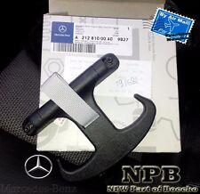 Mercedes-Benz Black Trunk Bag Hook Grocery Hanger OEM Genuine