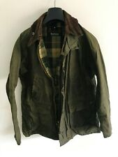 Mens Barbour Bedale SL wax jacket Green coat size Small / Extra Small S/XS