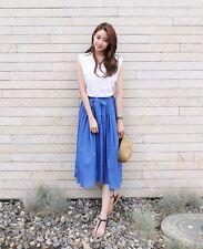 Unbranded Regular Size Knee-Length Asymmetrical Skirts for Women
