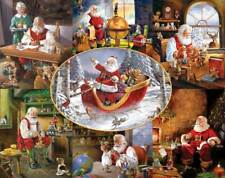 MERRY CHRISTMAS TO ALL! 1000 PC JIGSAW PUZZLE by WHITE MOUNTAIN ~ NEW & SEALED
