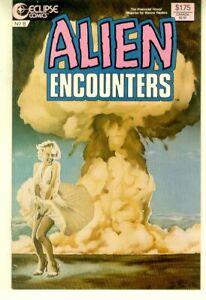 ALIEN ENCOUNTERS #8 (Eclipse Comics, 1986) NM!