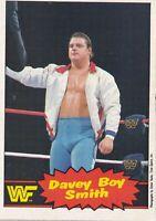 British Bulldog Davey Boy Smith 1985 1986 O-Pee-Chee WWF Rookie Card #48 WWE RC