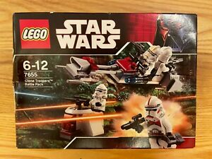 LEGO Star Wars 7655 Clone Troopers Battle Pack - Employee Collection - see desc.