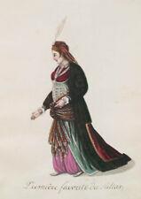 Ottoman Turkish Turkey Woman First Favourite of the Sultan 19thc, 7x5 Inch Print