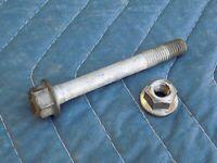 Power Steering Rack Hardware Long Bolt w/ Nut OEM 1989 C4 Corvette