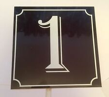 Metal Square French Decorative Plaques & Signs