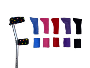 Crutch Arm Covers Cuffs Sleeves Elbow Handle Crutches Comfy FREE 1st P&P