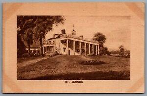 Postcard Mt. Vernon Virgina c1911 Home Of George And Martha Washington