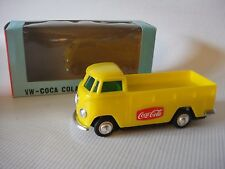 Coca-Cola Europa  Lucky VW Wagon motorized battery op Hong Kong 1970 MINT in box