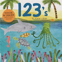 123's by Katie Wilson (2018, Board Book)