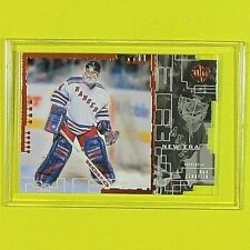 """DAN CLOUTIER  1998-99   """" UD DIE-CUTS GOLD  021/200 """"   NY Rangers"""