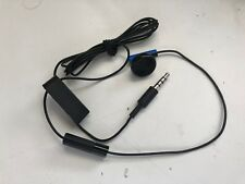 Original Official Sony PS4 Headset Earbud Microphone Earpiece Mono Chat Mic