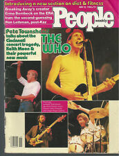 PETE TOWNSHEND The Who JOHN ENTWISTLE Roger Daltrey MAUD ADAMS Keith Moon 1980