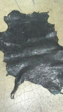 Italian Goatskin Leather Goat Skin Hide Distressed Dark Brown - 3 Sq.Ft. 2.5 oz.
