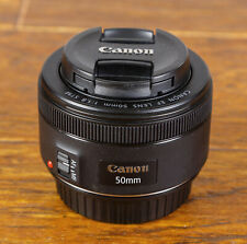 Exc+ Canon 50mm F1.8 STM Prime Lens - For Canon DSLR Great for Video Shooting!