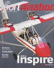 EAA Sport Aviation (January 2017) (Metal Wing AirCam, Bob Hoover, RotorWay)