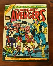 Vintage Comic Book Marvel Treasury Edition # 7 featuring The Mighty Avengers