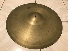 "Vintage Zildjian Avedis 18"" Drum THIN Crash Cymbal - Hollow Logo"