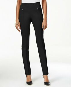 Style & Co Petite Pull-On Skinny Pants Deep Black Size PM Style #54518